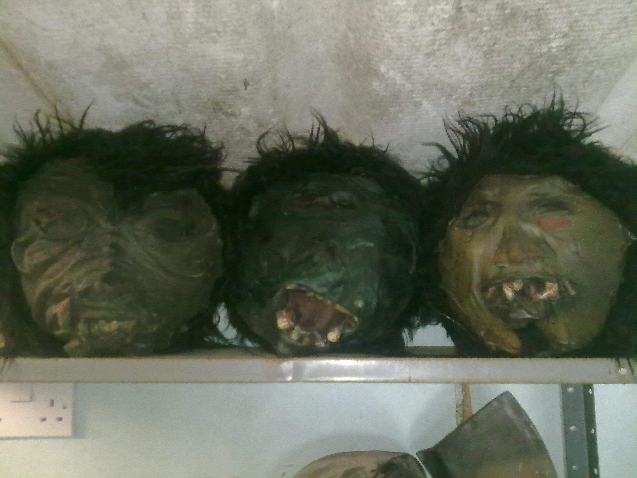 Goblinoid heads/foam balls