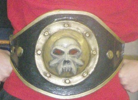 Belt for an evil WWE contest!